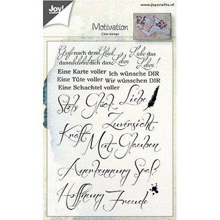 Stempel / Stamp: Transparent Klar / Gennemsigtig Stempel: Tysk Ordsprogenes