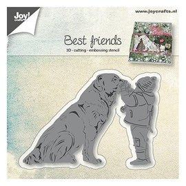 Joy!Crafts / Hobby Solutions Dies Skæring dies: Hund med barn