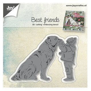 Joy!Crafts / Jeanine´s Art, Hobby Solutions Dies /  Stanzschablonen: Hund mit Kind