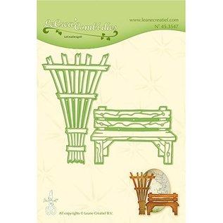 Joy!Crafts / Jeanine´s Art, Hobby Solutions Dies /  Stanzschablone: Gartenbank