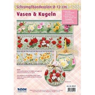 BANDEROLEN, Schrumpffolien Schrumpfbanderolen für Vasen und Töpfe