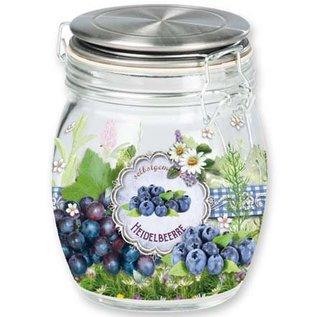 BANDEROLEN, Schrumpffolien Schrumpfbanderolen Marmelade/Smoothies, 9 cm