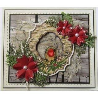 Stempel / Stamp: Transparent Klar / Gennemsigtig Stempel: Christmas Robin