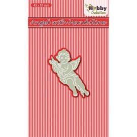 Joy!Crafts / Hobby Solutions Dies Stanzschablone: Angel with Mandoline