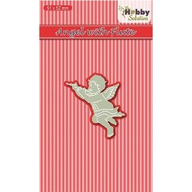 Joy!Crafts / Jeanine´s Art, Hobby Solutions Dies /  Découpe et gaufrage: ange à flûte