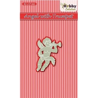 Joy!Crafts / Hobby Solutions Dies Stanzschablone: Angel with trumpet