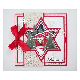 Marianne Design Stamping template: stars