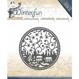 Precious Marieke Stanz- und Prägeschablonen: Winterfun - Ornament