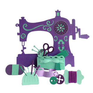 CREATIVE EXPRESSIONS und COUTURE CREATIONS Skæring dør: The Sewing Room