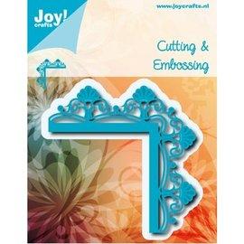 Joy!Crafts / Hobby Solutions Dies Skæring og prægning: Hjørne med blomster