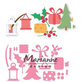 Marianne Design Cutting & Embossing: Eline's Christmas decoration