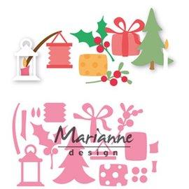 Marianne Design Taglio & Embossing: decorazione di Natale di Eline