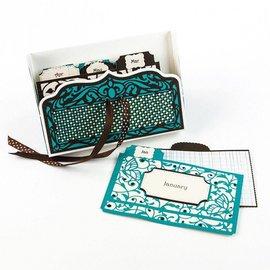 Tonic Cutting & Embossing Die voor het ontwerpen van een doosje
