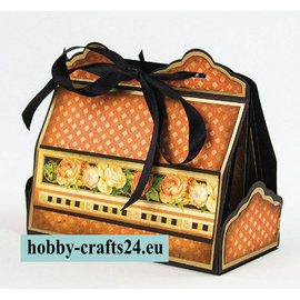 Tonic Stempling og prægning skabelon: Cupcake & Treat Box Set