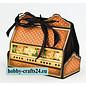 Tonic Stempling og prægning skabelon: Cupcake & Treat Box Set