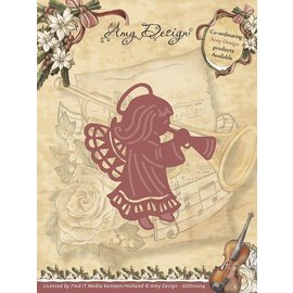 AMY DESIGN Stamping template: Angel