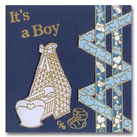 Sticker Sticker: lit bébé