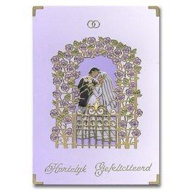 Sticker Klistermærke: Bryllup