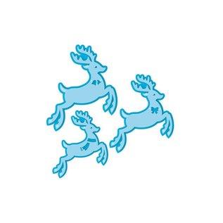 Tonic Skæring dies: 3 rensdyr