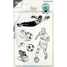 Joy!Crafts / Hobby Solutions Dies Transparant / Clear Stamp: Soccer