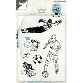 Joy!Crafts / Hobby Solutions Dies Gennemsigtig / Clear Stamp: Fodbold