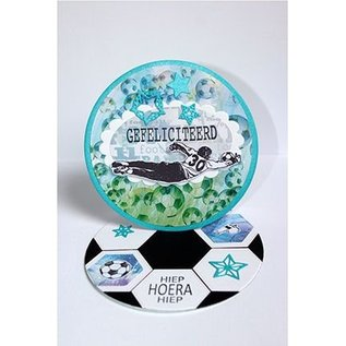 Joy!Crafts / Jeanine´s Art, Hobby Solutions Dies /  Transparent / Clear Stempel: Fussball