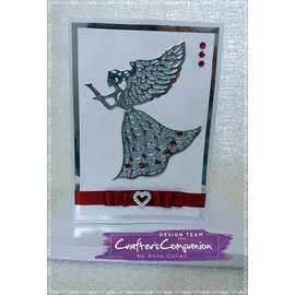 Crafter's Companion Stamping template: Angel
