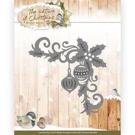Precious Marieke Ponsen sjabloon: hoek met thema's van Kerstmis