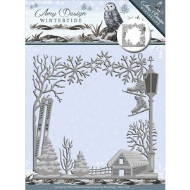 AMY DESIGN Stamping template: Wintertide