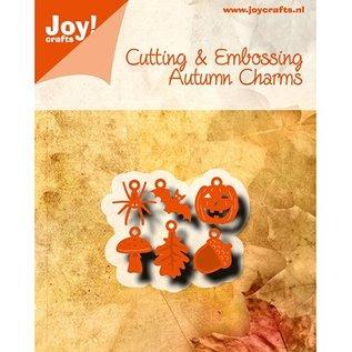 Joy!Crafts / Hobby Solutions Dies Modèle de poinçonnage: 6 Breloques motifs d'automne