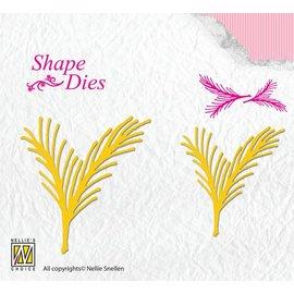 Nellie Snellen Stanzschablone: Tannenbaum Zweig