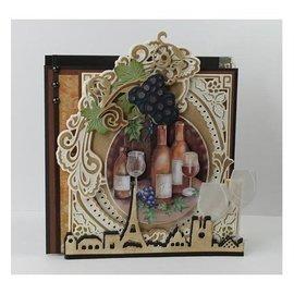 Marianne Design meurt coupe: raisins de vignes