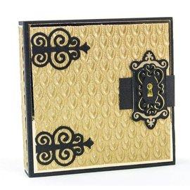 Tonic Estênciles de corte e estampagem: dobradiças decorativas