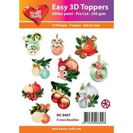 Bilder, 3D Bilder und ausgestanzte Teile usw... Easy 3D Toppers: Jul bolde