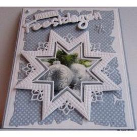 Marianne Design Ponsen sjabloon: Star XL