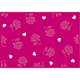 Marianne Design Estampagem e padrão de relevo: Projeto de Rosa