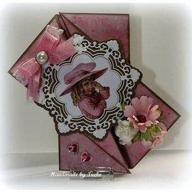 Joy!Crafts / Hobby Solutions Dies Punzonatura modello: cerchio ornamento e fiori