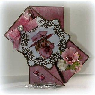 Joy!Crafts / Hobby Solutions Dies Stansning skabelon: ornamental cirkel og blomster