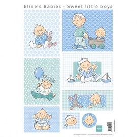 BILDER / PICTURES: Studio Light, Staf Wesenbeek, Willem Haenraets Bilderbogen A4, baby dreng
