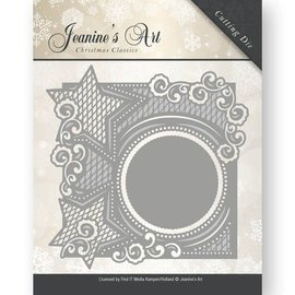 JEANINES ART (NEU) Corte morre: moldura decorativa com estrelas