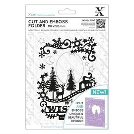 Docrafts / Papermania / Urban Stamping template and embossing folder in one: Christmas motifs