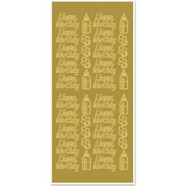 Sticker Klistermærker Hurra en baby + baby-motiver