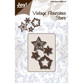 Joy!Crafts / Hobby Solutions Dies template perfuração: Estrelas