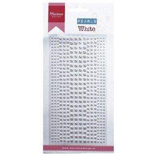 Embellishments / Verzierungen perle di adesivi Decorazione in bianco