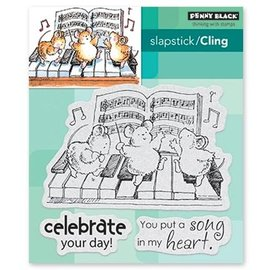 Penny Black Stempel: Celebration Song