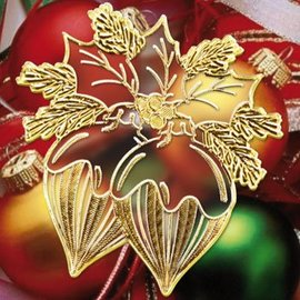 Sticker Adesivi con 18 dettagliato rilievo Tema Natale