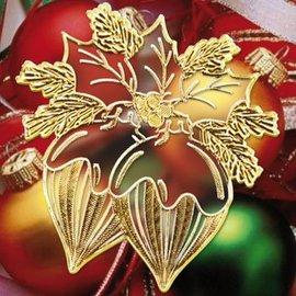 Sticker Stickers met 18 gedetailleerde reliëf Christmas Theme