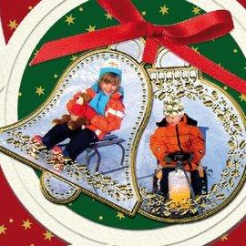 Sticker Etiqueta: 6 bolas de Natal e 6 klocken