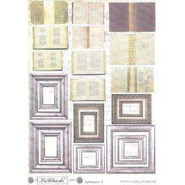 "LaBlanche LB Recortable Sheet ""Ephemera 4"""
