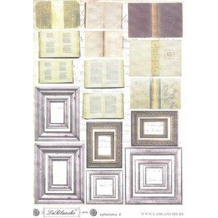 """LaBlanche LB Cut Out Sheet """"Ephemera 4"""""""